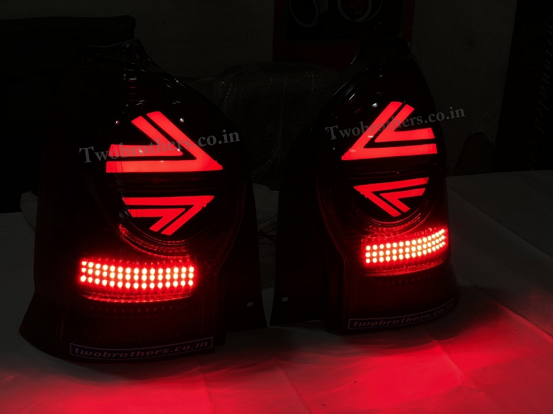 Old Alto K10 Concept Style Led Tail Lights